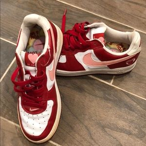 Rare, Valentine's Day Edition Nike Air Force 1